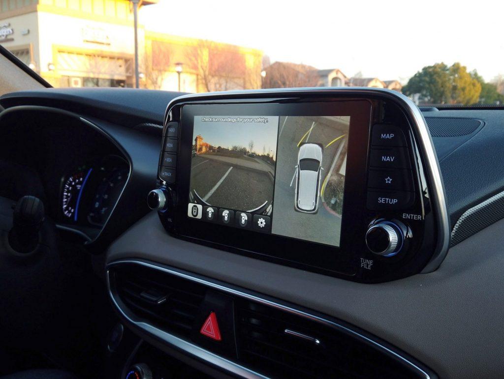 Hyundai Santa Fe 360 Camera