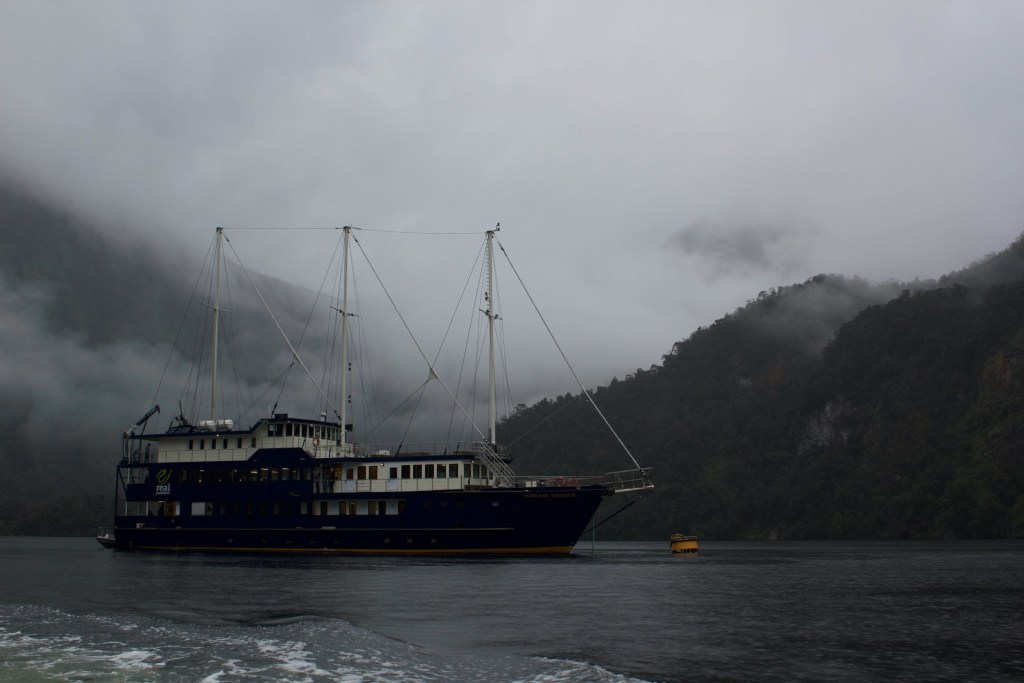 Doubtful Sound Ship New Zealand