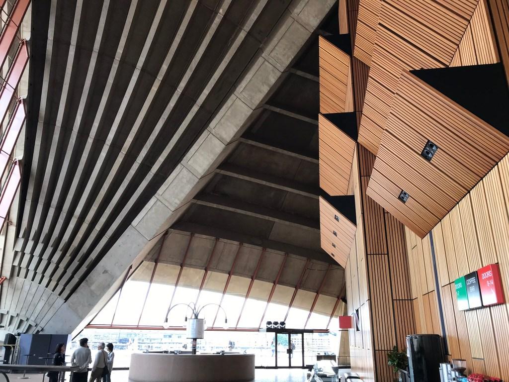 Australia Itinerary Sydney Opera House Inside