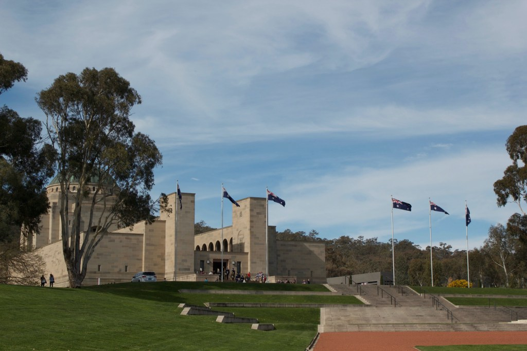 Australia Itinerary National War Memorial