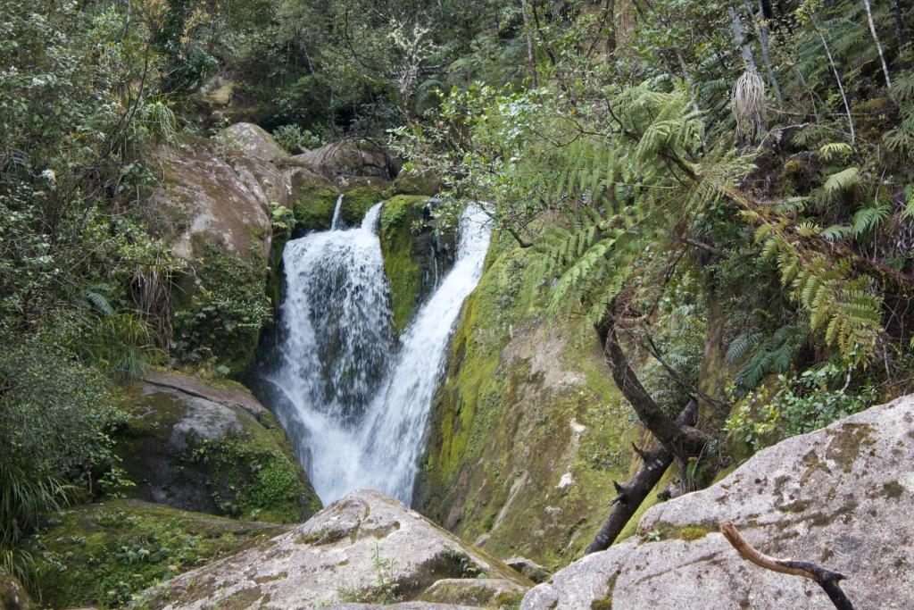 Abel Tasman Hike Waterfall