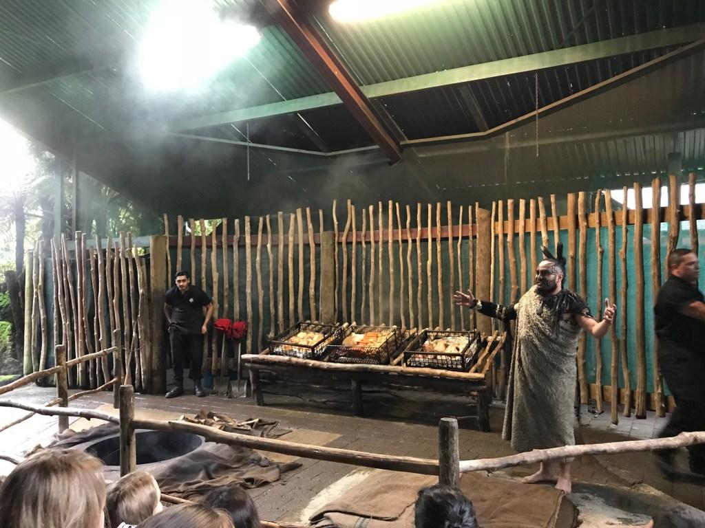 Rotorua New Zealand Tamaki Maori Feast