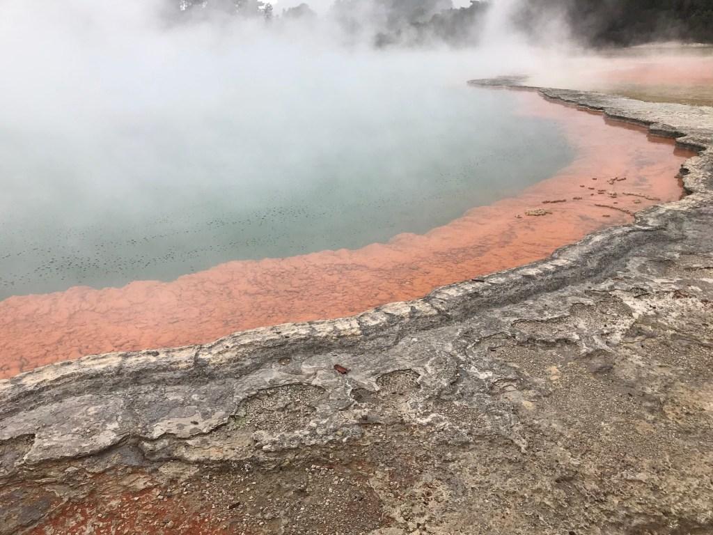 Rotorua New Zealand Wai O Tapu Champagne Pool