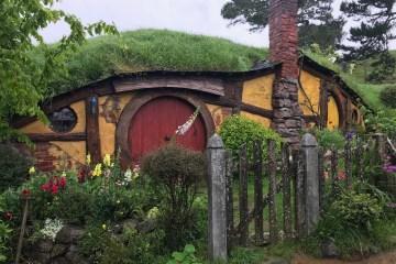 Three Days in Auckland Bilbo's Hobbit Hole at Hobbiton
