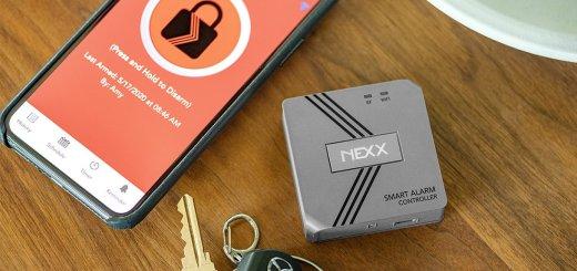 Nexx Smart Alarm with phone