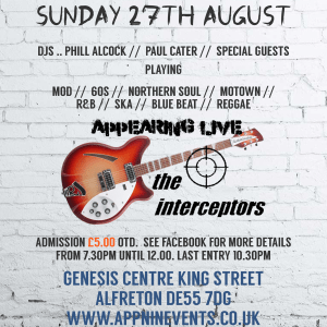 Interceptors Alfeton 27th Aug