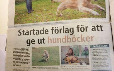 Artikel om Elsa i Härrydaposten