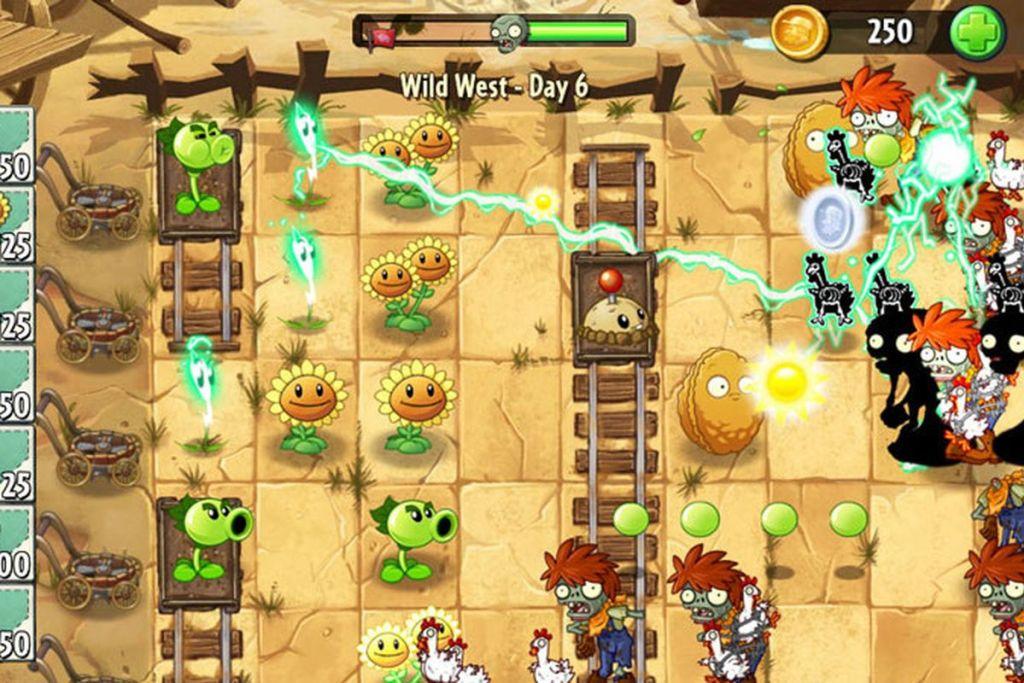 لعبة الزومبي ضد النباتات