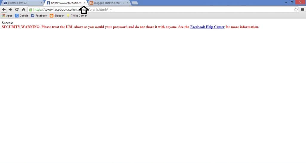 قم بغلق صفحة الفيسبوك