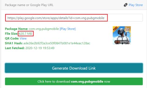 بدء تنزيل لعبة ببجي الكورية apk من متجر جوجل بلاي مباشرةً