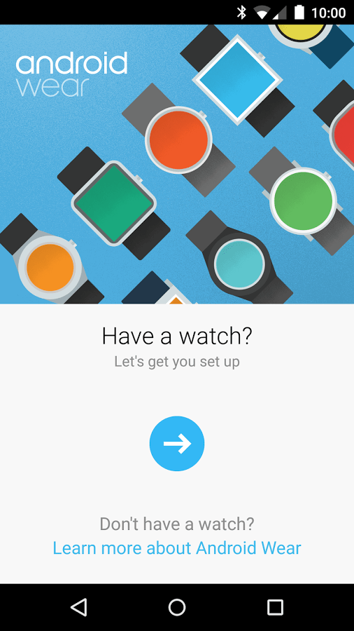 Android Wear – Smartwatch