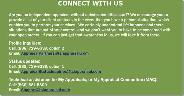 TSI wants your client contacts