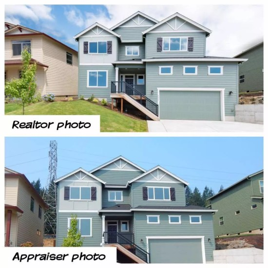 MLS photo vs appraiser photo