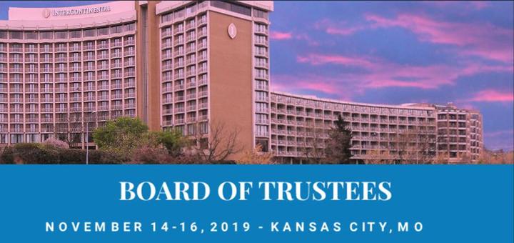Board of Trustees MO 2019