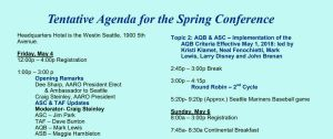 AARO 27th Annual Spring Conference