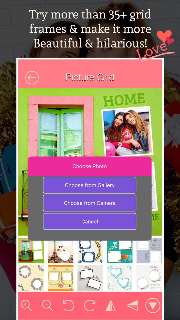 Picture Grid Art Frame is on AppRater