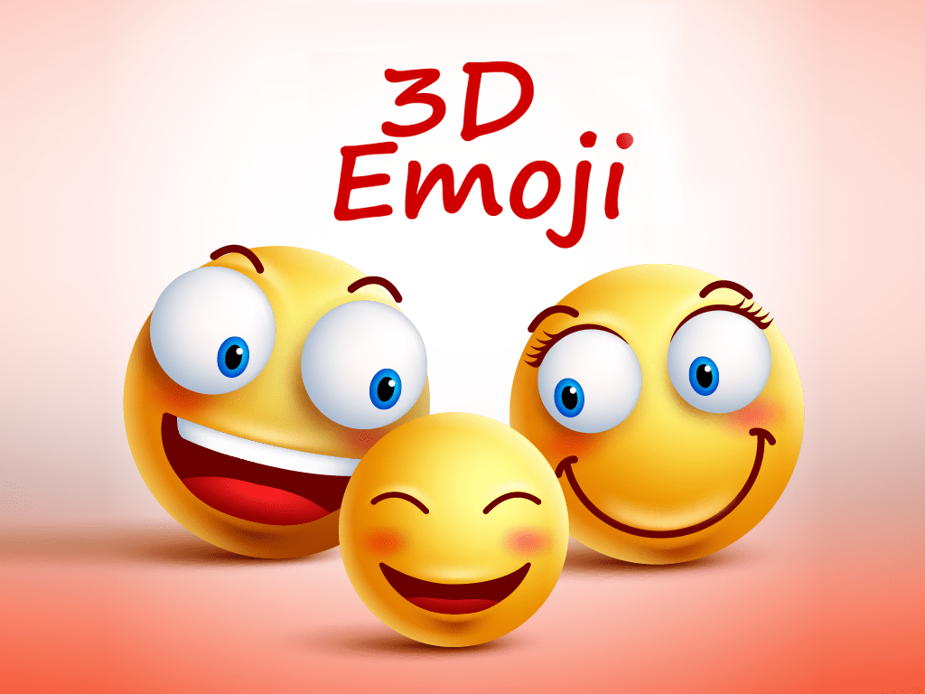 Emoji 3D Stickers Pack For IMessage Is On AppRater