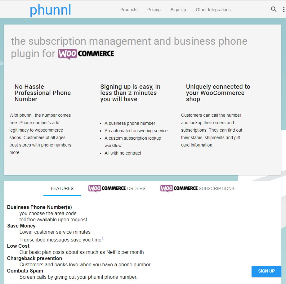 Phunnl - Every website deserves a phone number is on AppRater