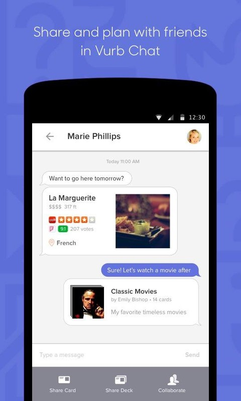 Vurb: Apps & Friends, Together APK Free Social Android App ...