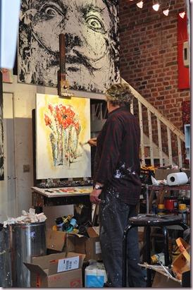 Peintre atelier