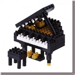 Piano à queue Nanoblock
