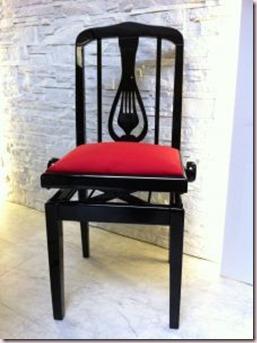 chaise piano réglable