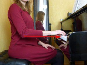 La bonne hauteur au piano