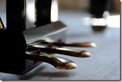 Pédales de piano propres et brillantes
