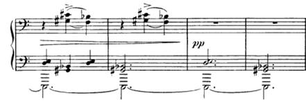 Portées piano deux clés de fa