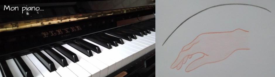 Le poignet figure la respiration du pianiste