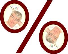 Pourcentage miroir Apprendre 5