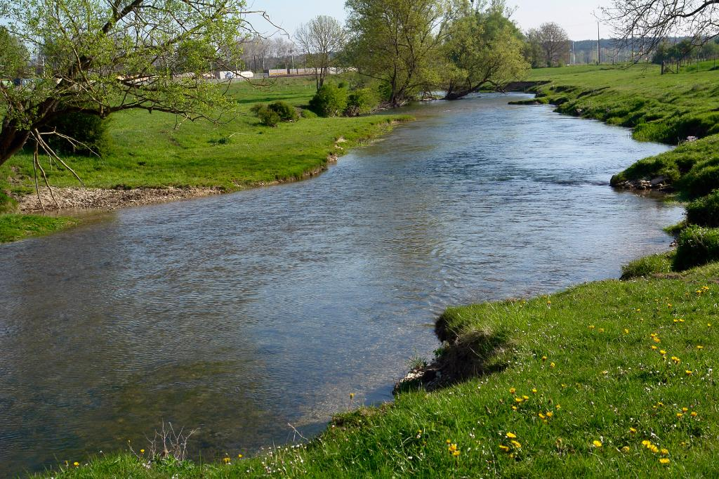 rivière calme