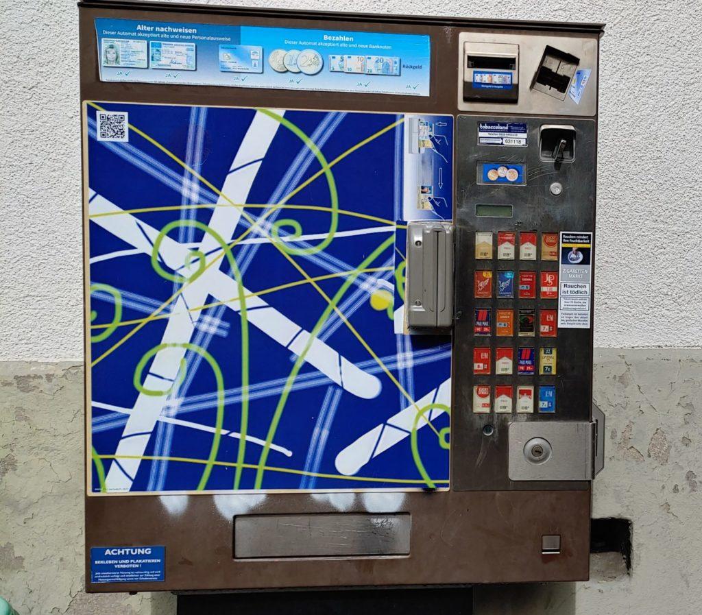 Distributeur automatique de cigarettes