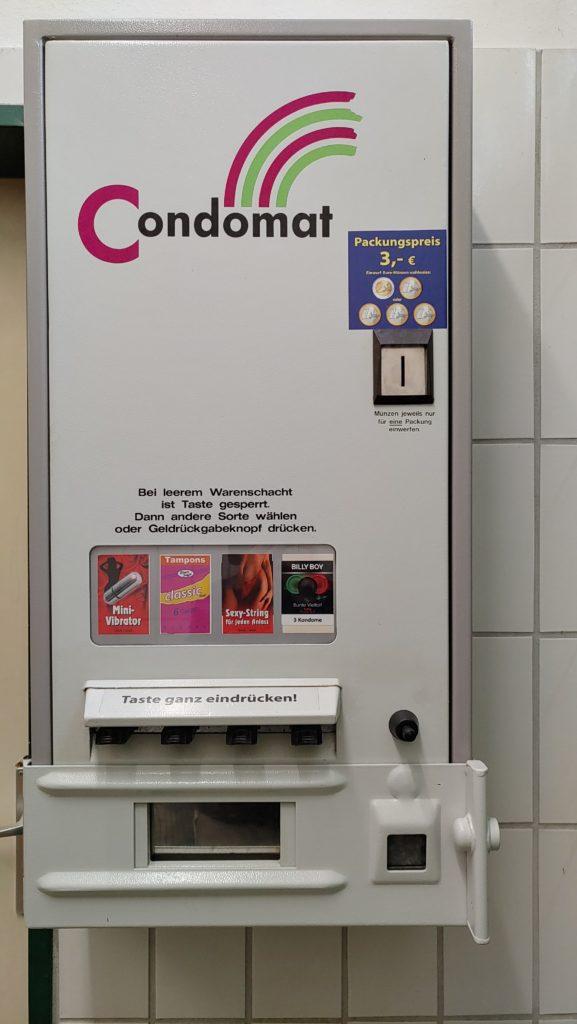 Distributeur automatique de sex toy