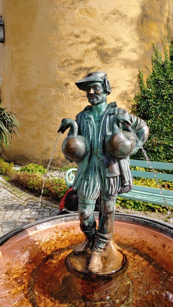 Fontaine du château de Hohenschwangau