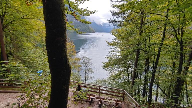 Lac de Königssee (Bavière, Allemagne)