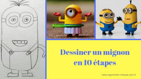 dessiner un minion en 10 étapes