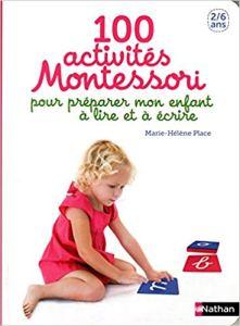100 activites montessori lire écrire