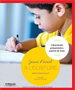Jeux éveil écriture Montessori