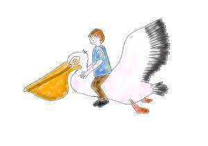 Pelican sur Paint