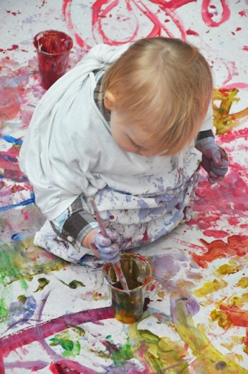 bebe peint herve tullet
