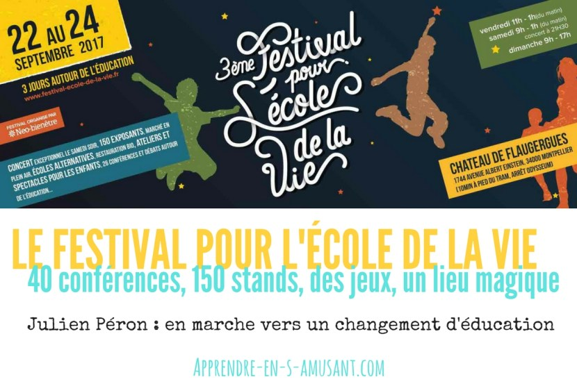 Article Festival pour l'école de la vie