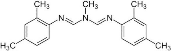molécule amitraze