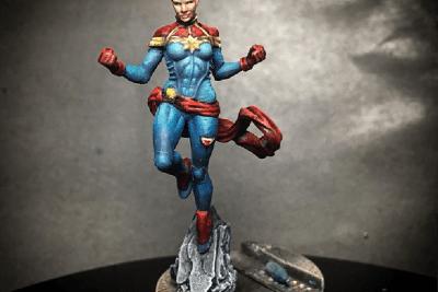Captain Marvel Marvel Crisis protocol