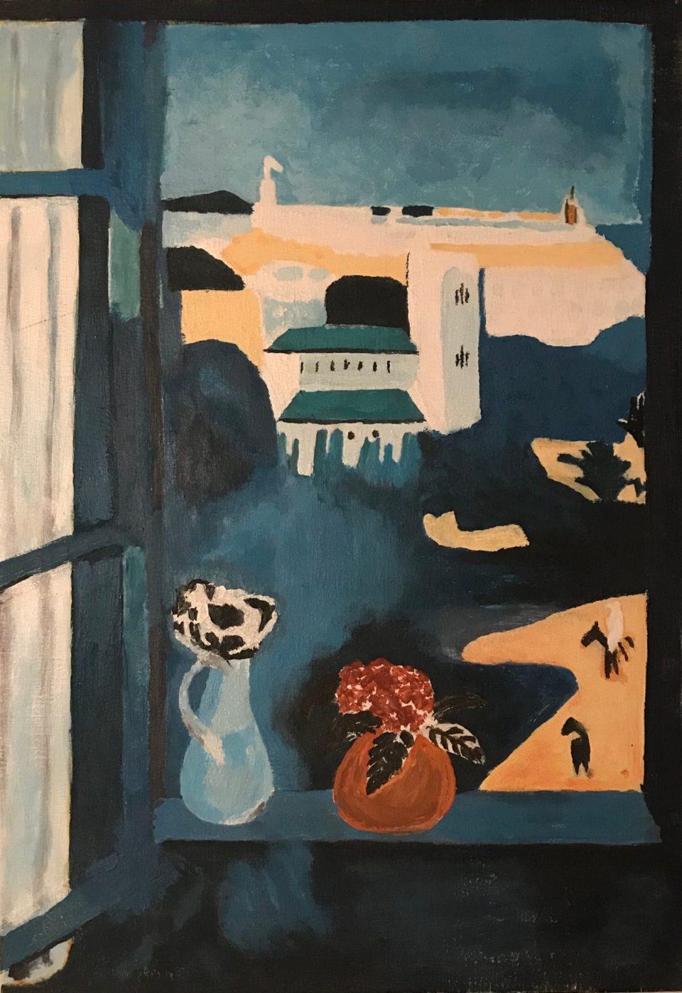 Reproduction d'après Henri Matisse, Paysage vu d'une fenêtre