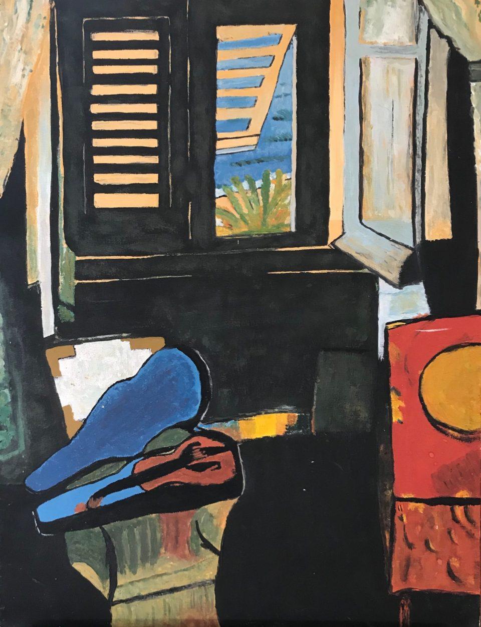 Reproduction d'après Henri Matisse, Intérieur au violon