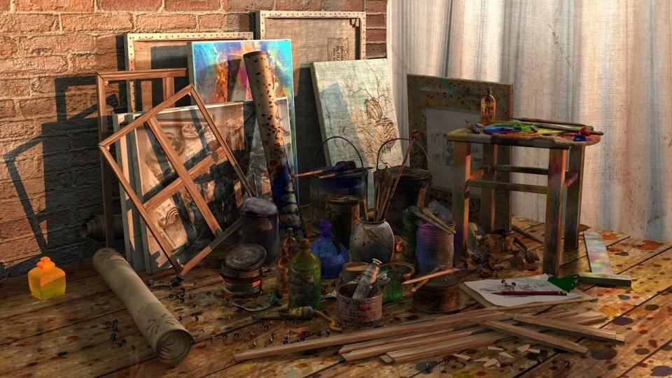 ne laissez pas vos tableaux à traîner, vernissez les pour les protéger et leur apporter une belle finition