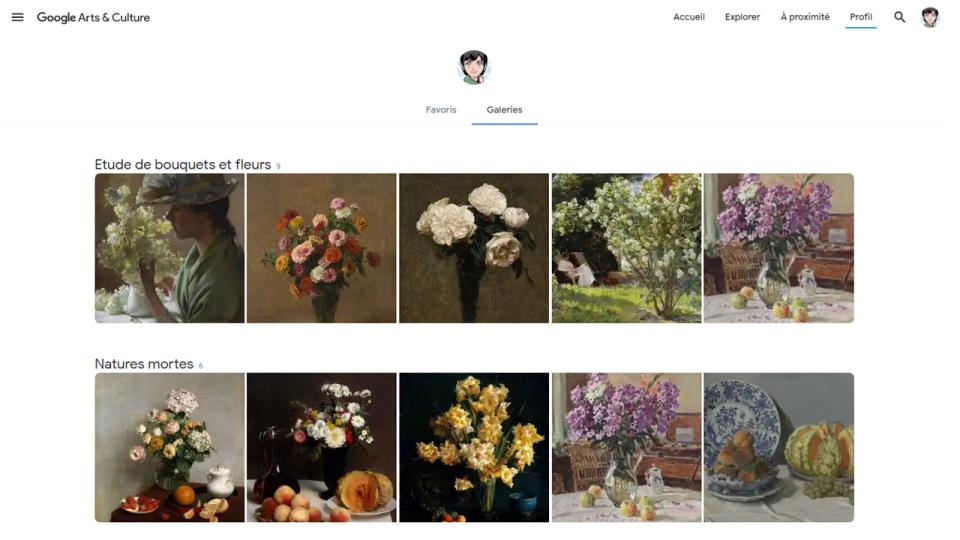 Mes galeries sur Google ArtandCulture