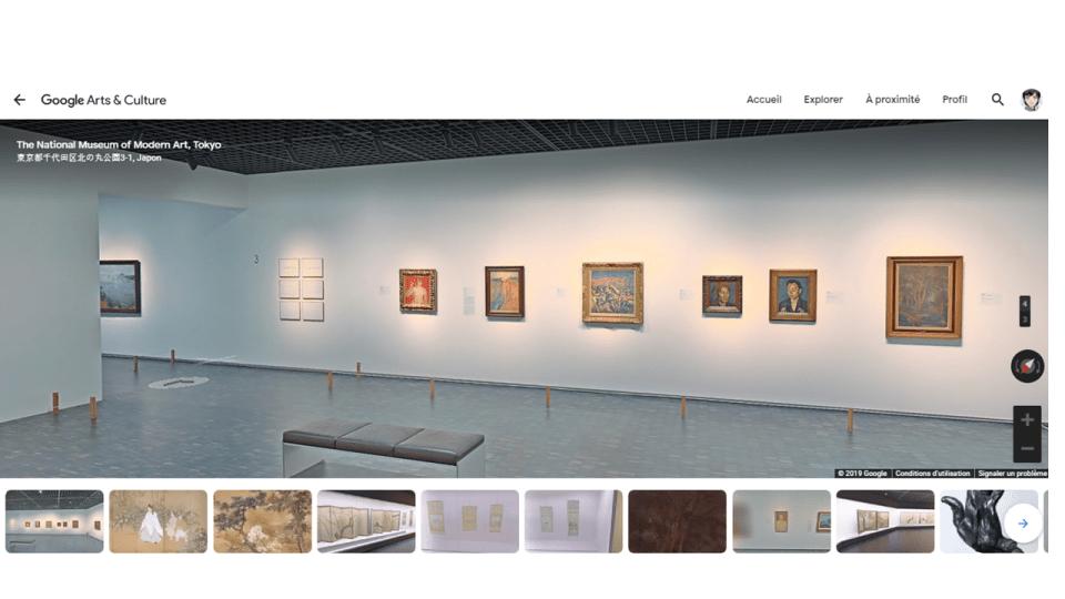 Visite virtuelle du musée