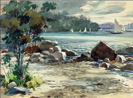 L'entrée (la crique) d'Eileen Monaghan Whitaker (1940)